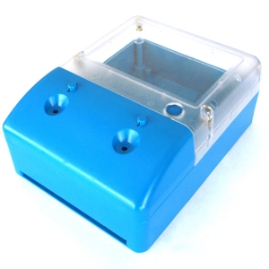 комплект деталей для электрического счетчика из отечественного АБС